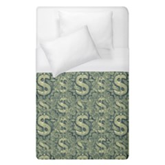 Money Symbol Ornament Duvet Cover (single Size)