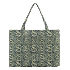 Money Symbol Ornament Medium Tote Bag