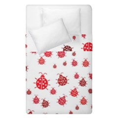 Beetle Animals Red Green Fly Duvet Cover Double Side (single Size) by Amaryn4rt
