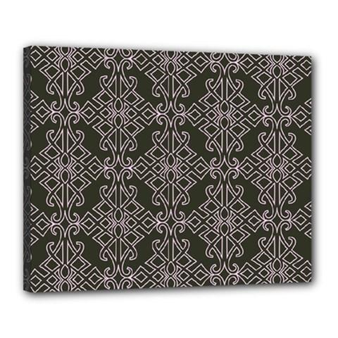 Line Geometry Pattern Geometric Canvas 20  X 16
