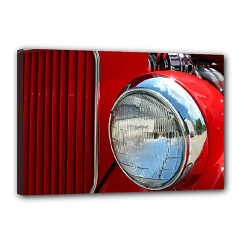 Antique Car Auto Roadster Old Canvas 18  X 12  by Amaryn4rt
