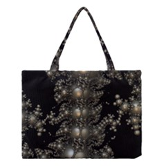 Fractal Math Geometry Backdrop Medium Tote Bag by Amaryn4rt