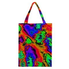 Hot Fractal Statement Classic Tote Bag by Fractalworld