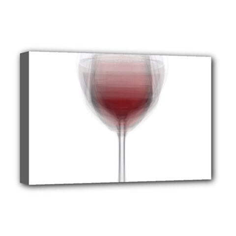 Wine Glass Steve Socha Deluxe Canvas 18  X 12   by WineGlassOverlay