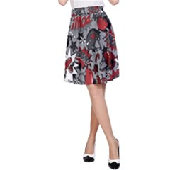 Roller Derby Slam A-Line Skirt