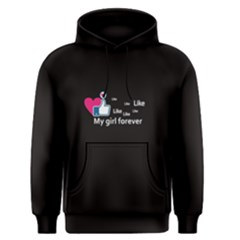 Black like my girl forever Men s Pullover Hoodie by FunnySaying