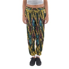 Painted waves                                                         Women s Jogger Sweatpants by LalyLauraFLM