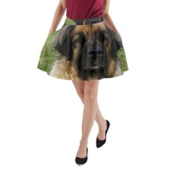 Leonberger 2 A-Line Pocket Skirt