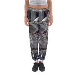 French Bulldog Brindle Women s Jogger Sweatpants by TailWags