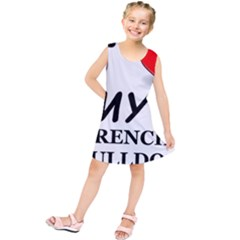 French Bulldog Love Kids  Tunic Dress by TailWags