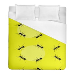 Ant Yellow Circle Duvet Cover (Full/ Double Size)