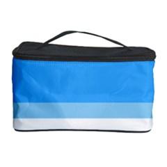 Blue Horizon Graphic Simplified Version Cosmetic Storage Case by Jojostore