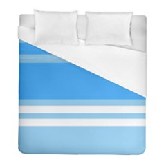 Blue Horizon Graphic Simplified Version Duvet Cover (Full/ Double Size)
