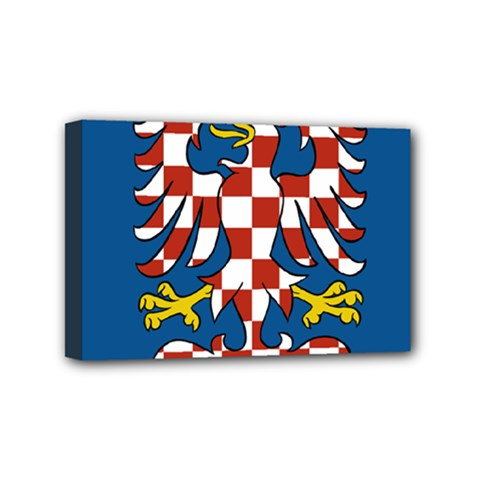 Flag Of Moravia  Mini Canvas 6  X 4  by abbeyz71