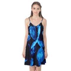 Jellyfish Sea Beack Water Blue Camis Nightgown