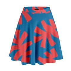 Simple Tropical Original High Waist Skirt by Jojostore