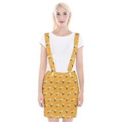 Wasp Bee Hanny Yellow Fly Animals Suspender Skirt by Jojostore