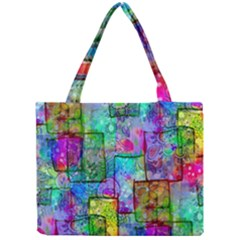 Rainbow Floral Doodle Mini Tote Bag by KirstenStar