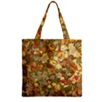 Autumn Leaves Zipper Grocery Tote Bag