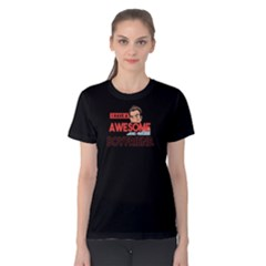 I Have A Awesome Boyfriend   Women s Cotton Tee