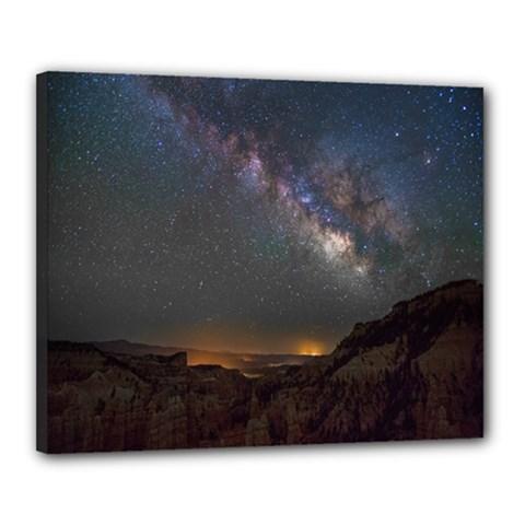 Fairyland Canyon Utah Park Canvas 20  X 16