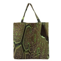 Fractal Complexity 3d Dimensional Grocery Tote Bag by Nexatart
