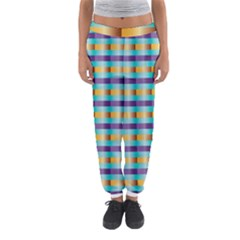 Pattern Grid Squares Texture Women s Jogger Sweatpants by Nexatart