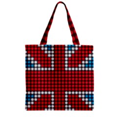 The Flag Of The Kingdom Of Great Britain Zipper Grocery Tote Bag by Nexatart