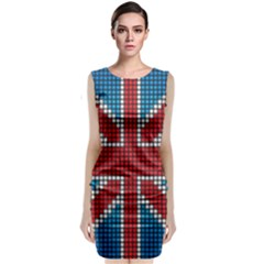 The Flag Of The Kingdom Of Great Britain Classic Sleeveless Midi Dress
