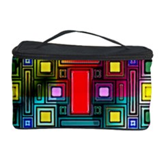 Art Rectangles Abstract Modern Art Cosmetic Storage Case