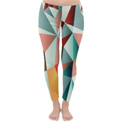 Abstracts Colour Classic Winter Leggings