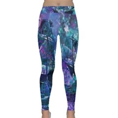 Abstract Ship Water Scape Ocean Classic Yoga Leggings