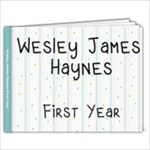 Wesley First Year - 9x7 Photo Book (20 pages)