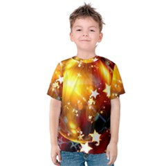 Advent Star Christmas Kids  Cotton Tee