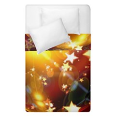 Advent Star Christmas Duvet Cover Double Side (single Size) by Nexatart