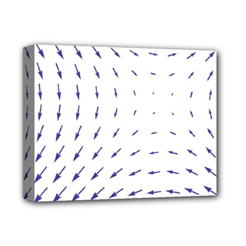 Arrows Blue Deluxe Canvas 14  X 11  by Alisyart
