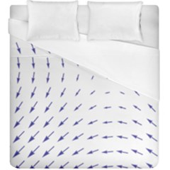 Arrows Blue Duvet Cover (king Size)