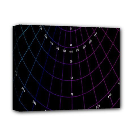 Formula Number Line Purple Natural Deluxe Canvas 14  X 11  by Alisyart