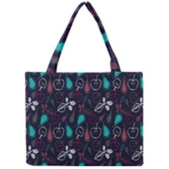 Fruit Pear Apple Purple Pink Blue Mini Tote Bag by Alisyart