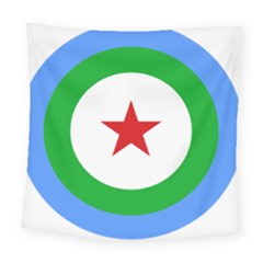 Roundel Of Djibouti Air Force Square Tapestry (large) by abbeyz71
