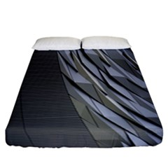 Architecture Fitted Sheet (California King Size)