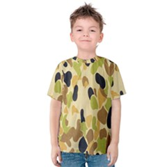 Army Camouflage Pattern Kids  Cotton Tee