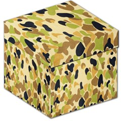 Army Camouflage Pattern Storage Stool 12   by Nexatart