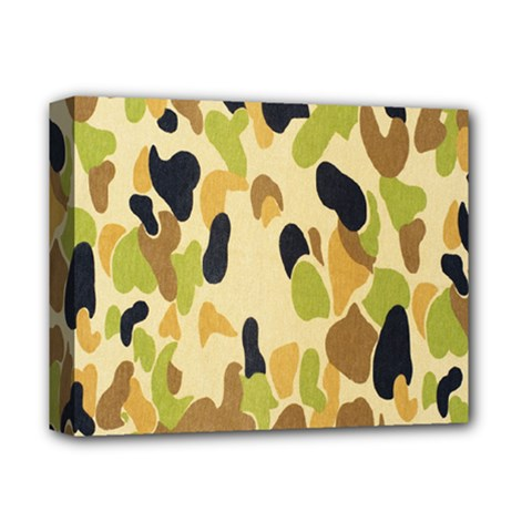 Army Camouflage Pattern Deluxe Canvas 14  X 11  by Nexatart
