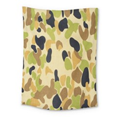 Army Camouflage Pattern Medium Tapestry