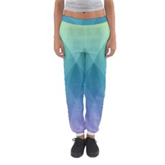 Lotus Events Green Blue Purple Women s Jogger Sweatpants by Alisyart