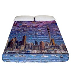 Auckland Travel Fitted Sheet (king Size) by Nexatart