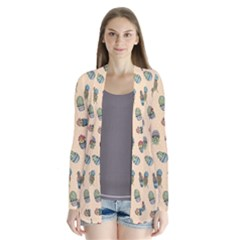 Sweet Succulents Cardigans by electrogiraffe