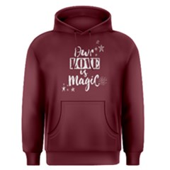 Red Our Love Is Magic Men s Pullover Hoodie by FunnySaying