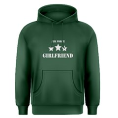 Green air force girlfriend  Men s Pullover Hoodie by FunnySaying